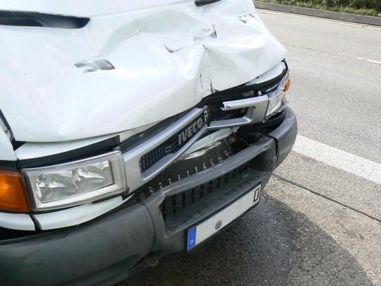 Auto kaputt wegen Unfall