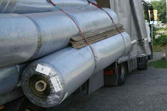 Ladungssicherung auf bulgarisch