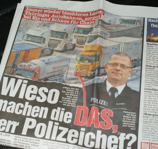 Warum nur, Herr Polizeichef